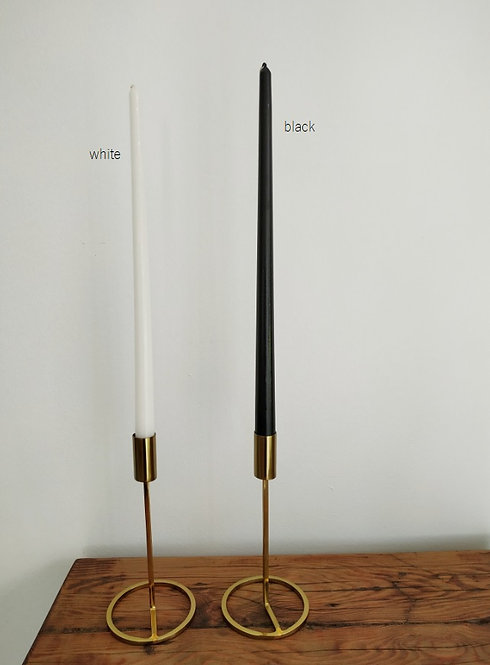 40cm tapered candle pack of 10
