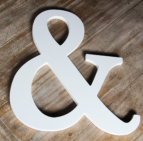 MD069 - Ampersand Wood Word