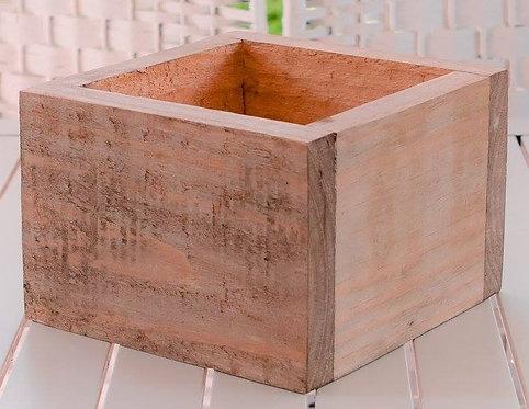 MD027a - Wooden Box Planter - Square