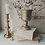 Thumbnail: MD028- Gold Distressed Compote