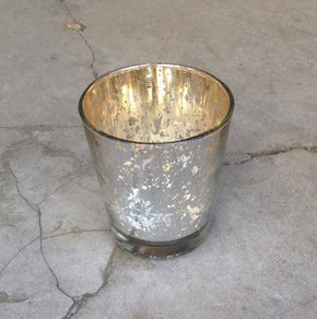 MD018a - Champagne Mercury Votive Large