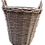 Thumbnail: MD009 - Light brown woven basket with handles