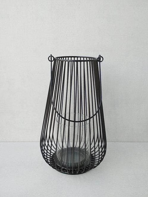 MD066 Scandi Style Black Lantern L