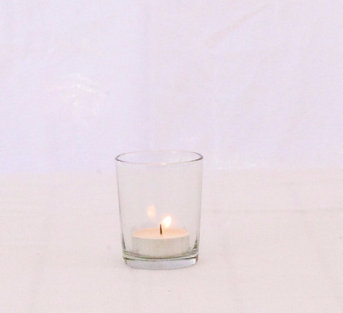 MD019a - Plain Glass Votive