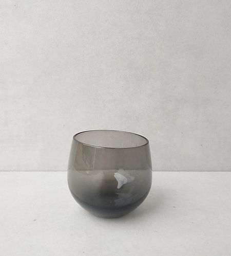 MD019d - Rounded Grey votive