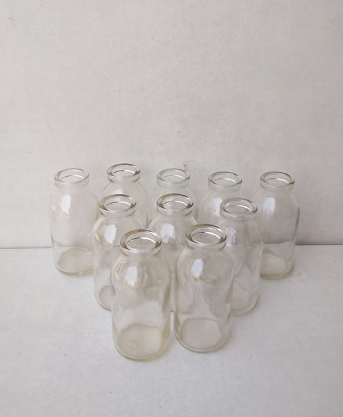 MD032a Petit glass bottles - set of 10