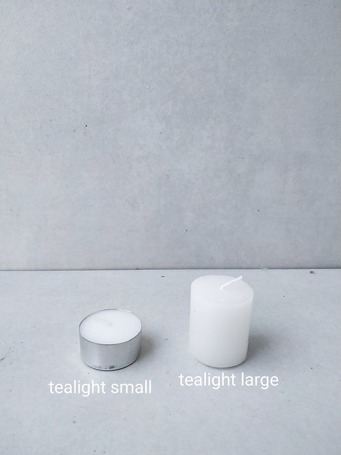 Small tealights pack of 50