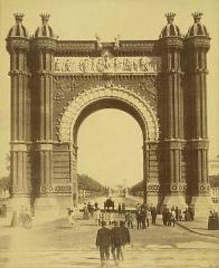 Entrada a l'Exposició Universal 1888