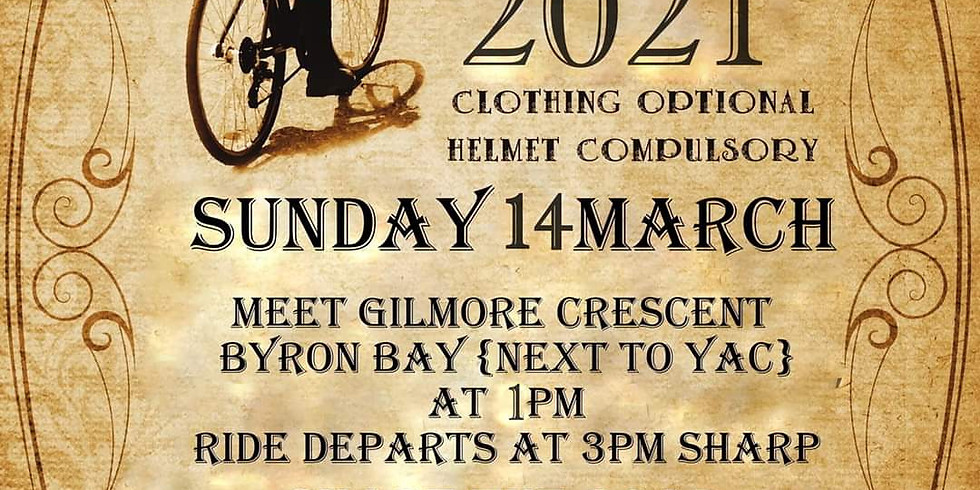 World Naked Bike Ride - Byron Bay