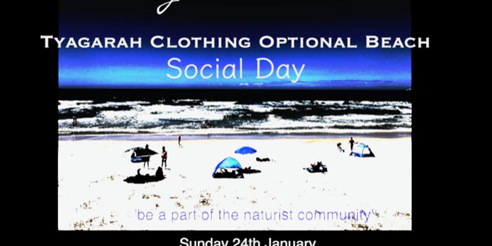 Tyagarah Clothing Optional Beach Social Day