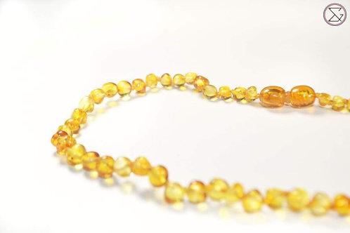 Collier d'ambre Honey