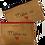 Thumbnail: Pochette papier fibre de bois - Un brin rétro x Ma ment part fête
