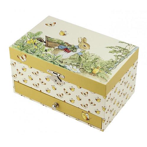 Boîte à bijoux musicale Cube Peter Rabbit® - Trousselier