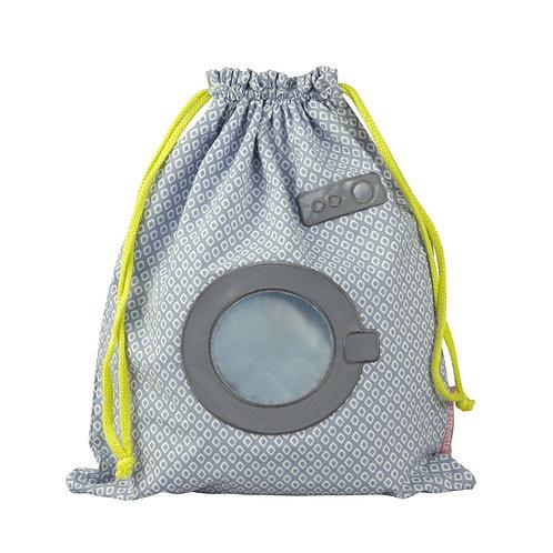 Sac à linge mouillé machine à laver bleu  - Little Crevette