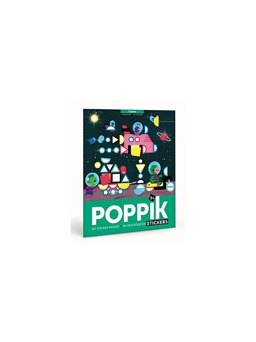 Poster + 750 gommettes - Poppik - L'espace