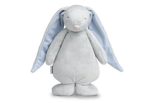 Peluche veilleuse musicale Moonie Clood - gris & bleu