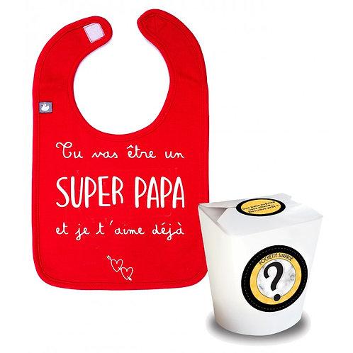"""Pochette surprise """"Tu vas être un super papa"""""""