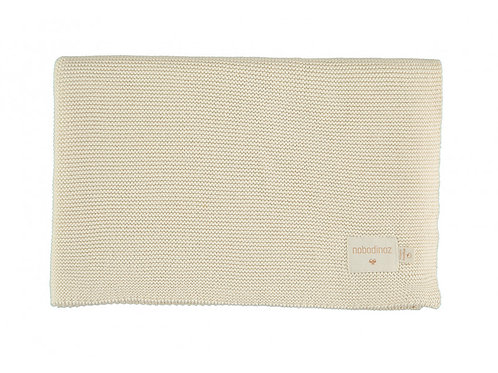 Couverture So Natural en tricot Natural - Nobodinoz