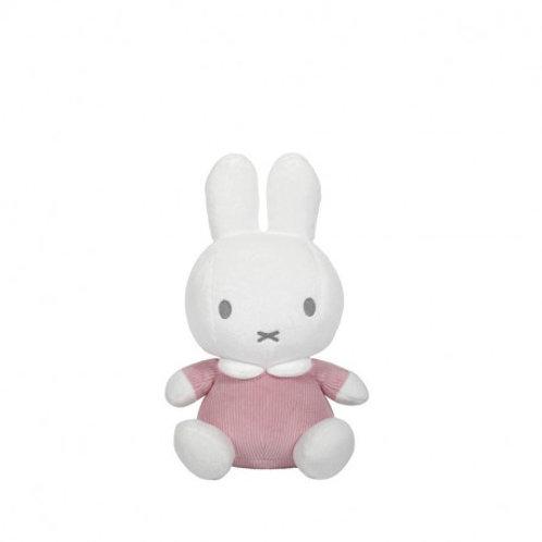 Peluche Miffy Rose Velours - 20 cm