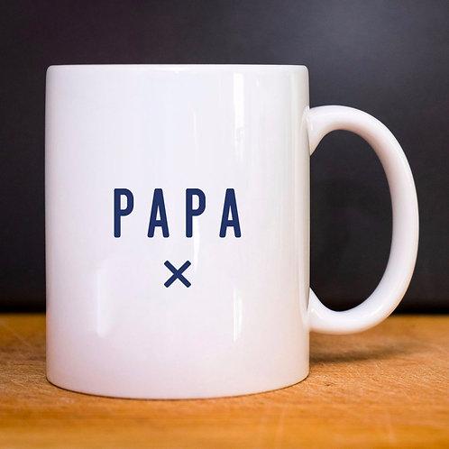 """Mug """"PAPA"""" - We are Family"""