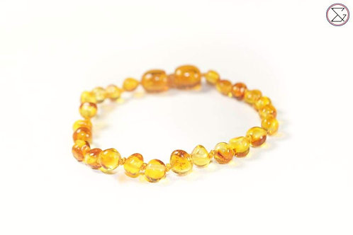 Bracelet d'ambre - Honey