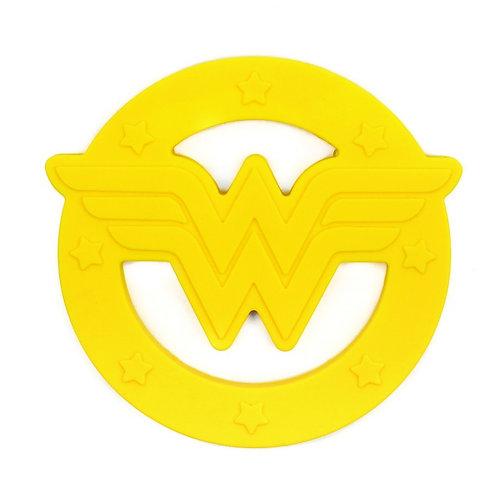 """Anneau de dentition en silicone """"Wonder Woman"""""""