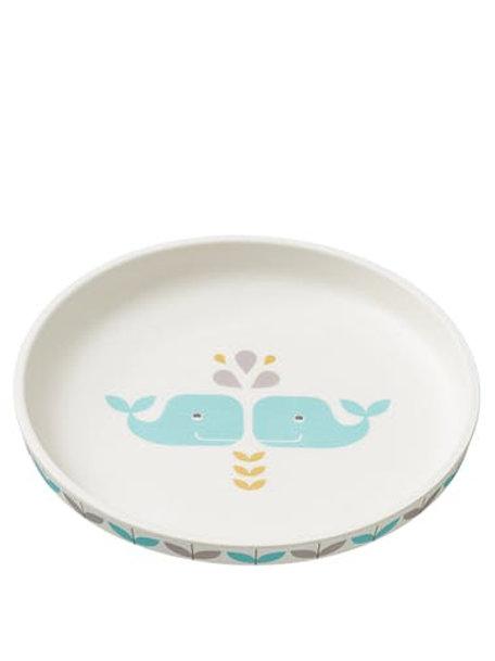 Assiette en bambou baleine - Fresk