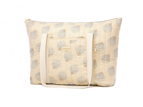 Sac de maternité Paris blue Gatsby cream - Nobodinoz
