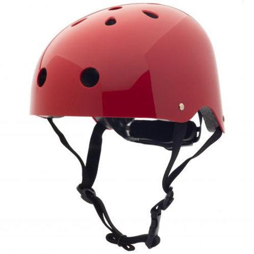 Casque de vélo coconuts rouge Trybike