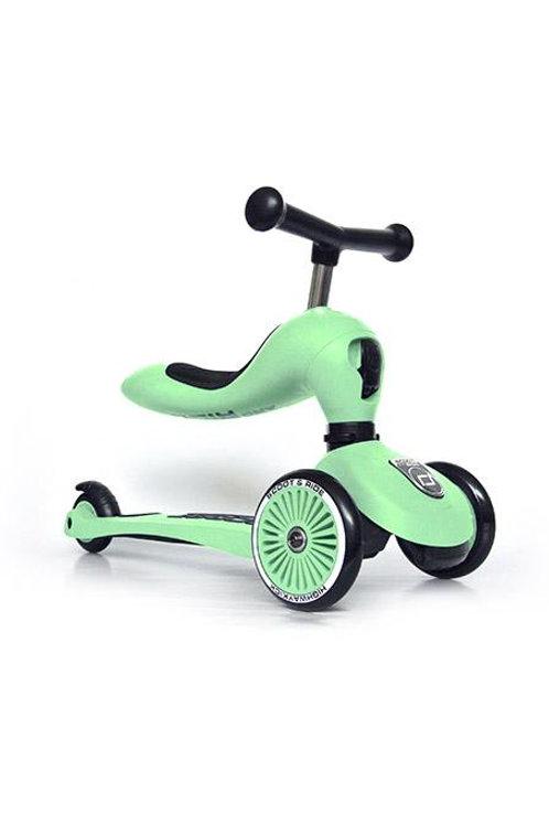 Trottinette évolutive 2 en 1 vert kiwi - Scoot and Ride