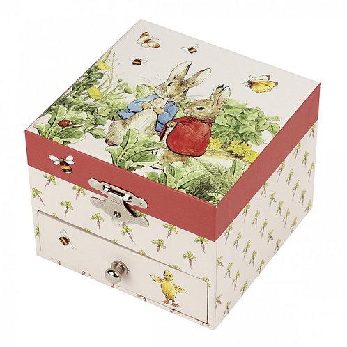 Boîte à musique Cube Peter Rabbit® - Trousselier