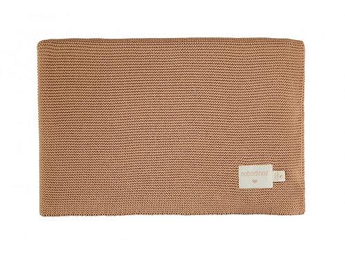 Couverture So Natural en tricot Biscuit- Nobodinoz
