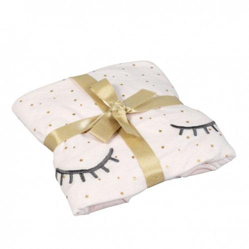 Drap-housse bébé coton bio Princesse Swan - Little Crevette