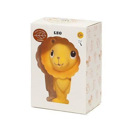 Hochet Léo le Lion 100% caoutchouc naturel - Petit Monkey