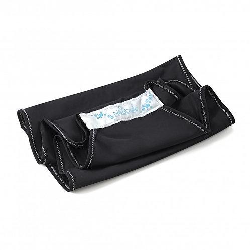 Aquabulle noir, porte-bébé d'appoint aquatique- Néobulle