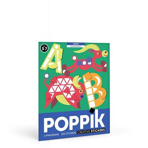 Les lettres de A à Z - Poppik -