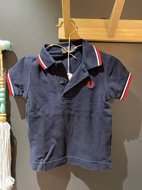 Polo Fred Perry 6-12 mois