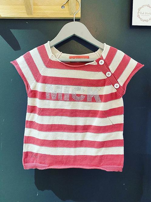 T-shirt coton Zadig & Voltaire t. 4/6 ans