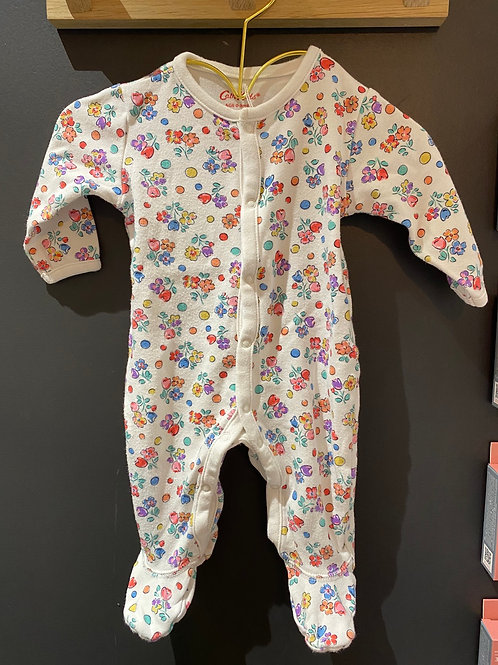 Pyjama fleuri 0/3 mois Cath Kids London