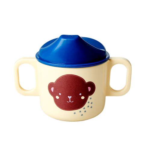MELAMINE BABY CUP - MONKEY PRINT