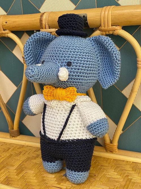 Éléphant au crochet - PoshOir