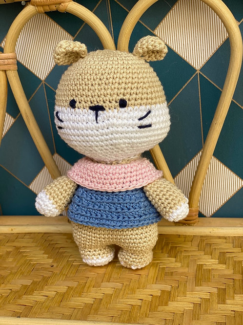 Petit hamster au crochet - PoshOir