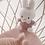 Thumbnail: Peluche Miffy Rose Velours - 20 cm
