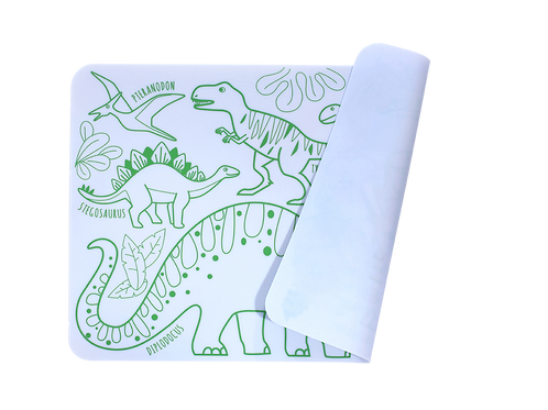 Mini Playmat - DINO réversible - Super Petit