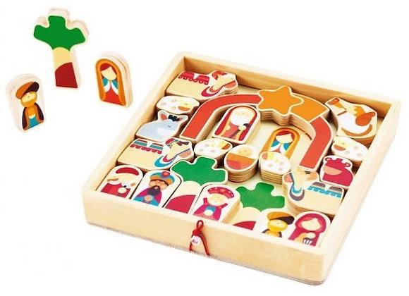 Puzzle de Noël Sevi 1831