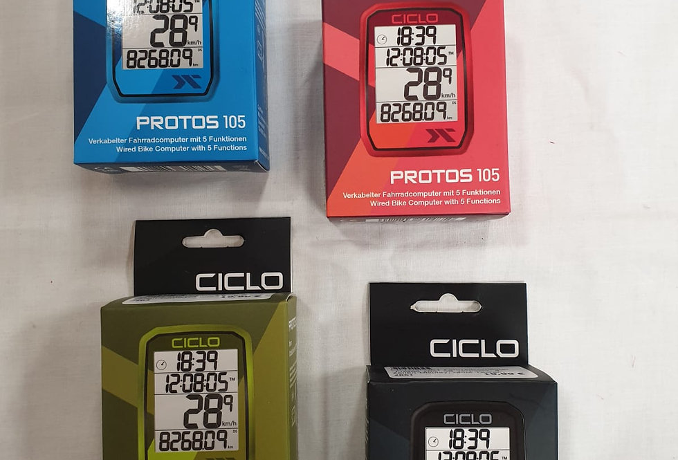 "CICLOSPORT Fahrradcomputer ""Protos 105"""
