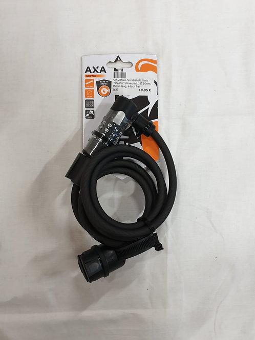 """AXA  Zahlen-Spiralkabelschloss """"Newton"""""""