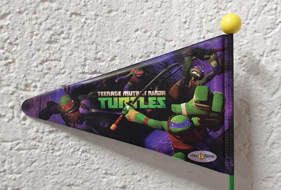 "BIKE FASHION Sicherheitswimpel ""Turtels"""