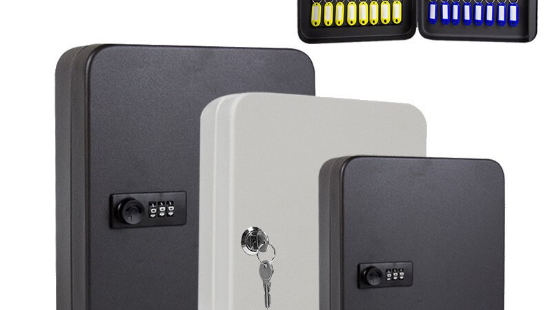 Lock Boxes for safety and security