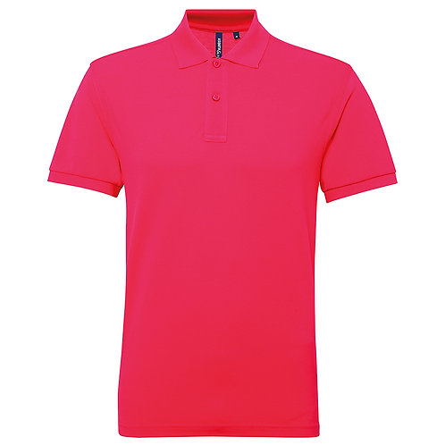 AQ015 Asquith & Fox Mens polycotton blend polo shirt